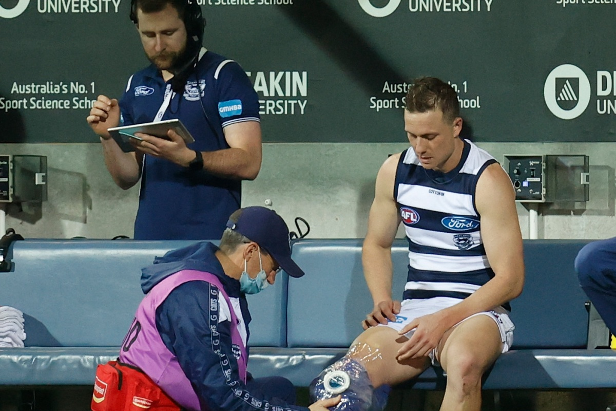 Article image for Injured Cats star reveals he will 'push himself' to be back for finals
