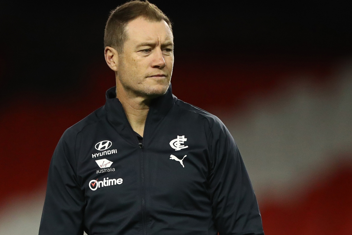 Article image for High-profile assistant coach leaves Carlton ahead of club review