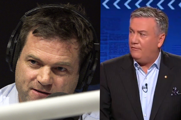 Article image for Mick Warner responds to Eddie McGuire's 'liar' barb on Footy Classified