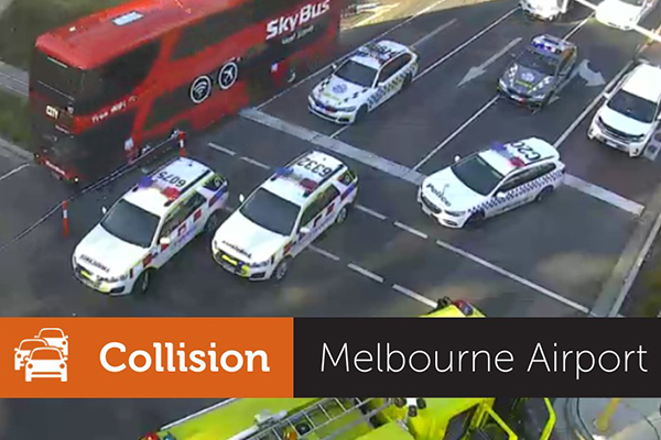 Article image for Fatal smash outside Melbourne Airport