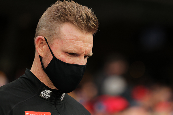Article image for Nathan Buckley to step down as Collingwood coach