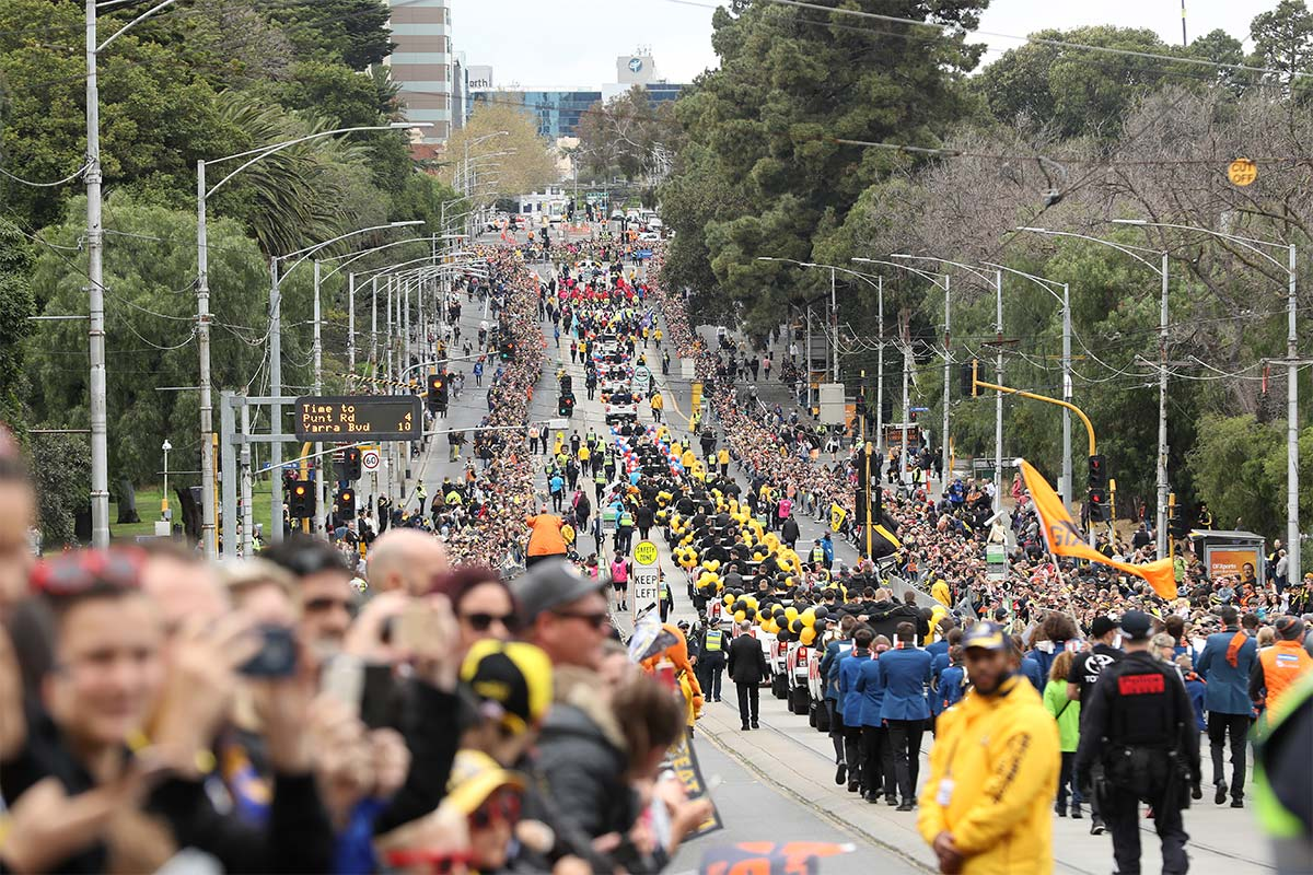 Article image for AFL Grand Final parade to be scrapped in favour of another event