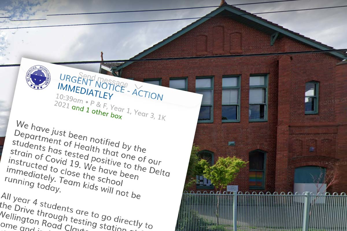 Article image for School in Melbourne's south-east closed after student tests positive to COVID-19