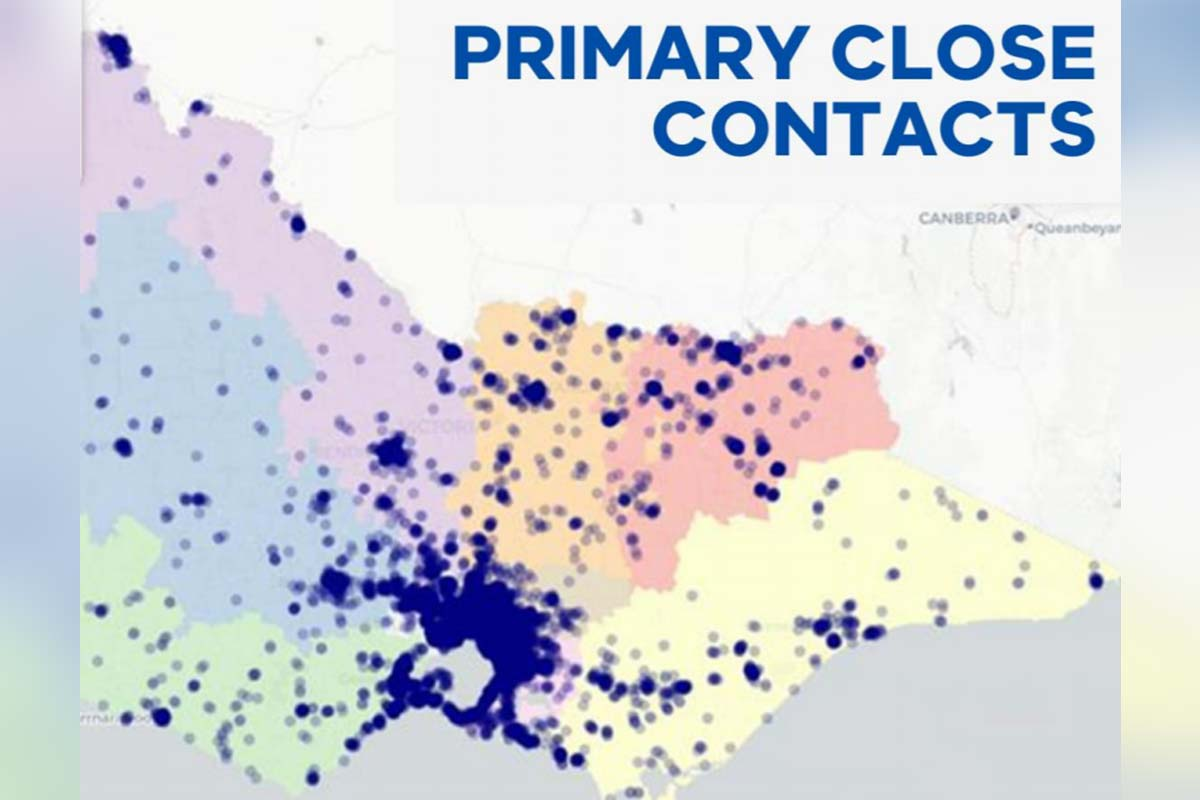 Article image for COVID-19: Two maps which show why regional Victoria is being treated cautiously