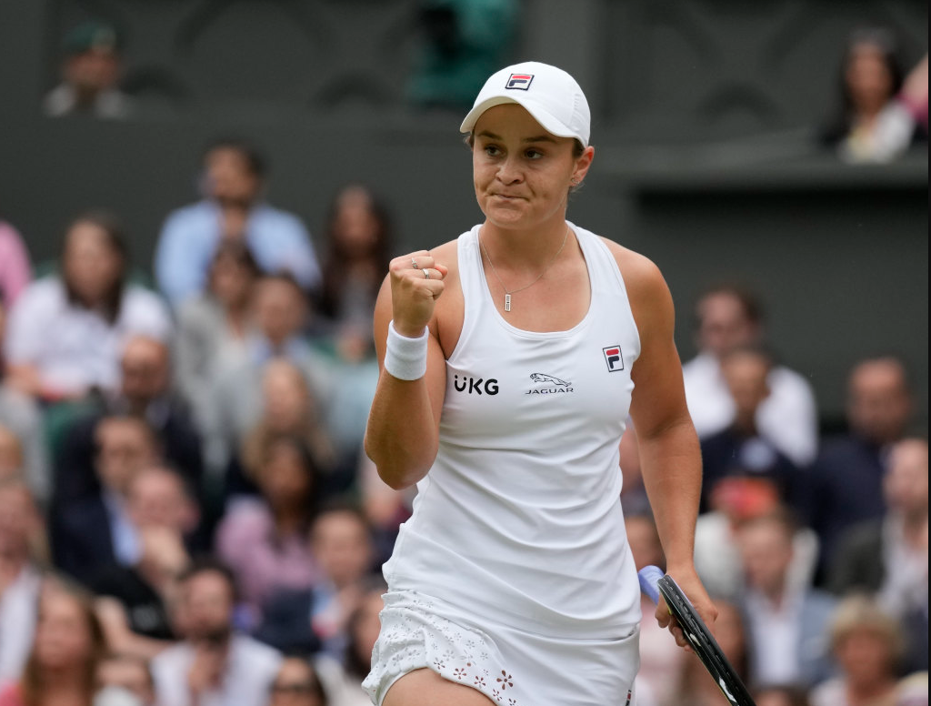 Article image for Ash Barty becomes Australia's first female Wimbledon champion in four decades