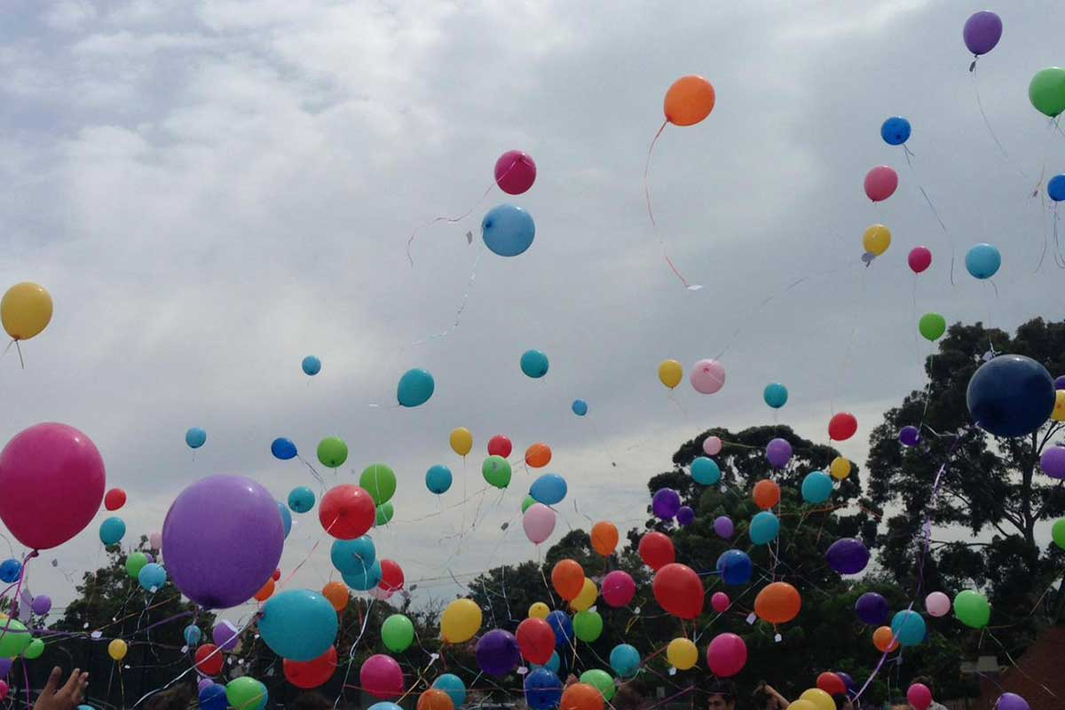 Article image for It's now illegal to deliberately release balloons in Victoria