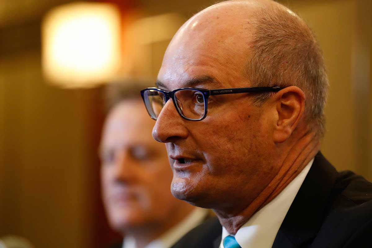 Article image for David Koch shares his thoughts on COVID-19 vaccination being a requirement to attend AFL games