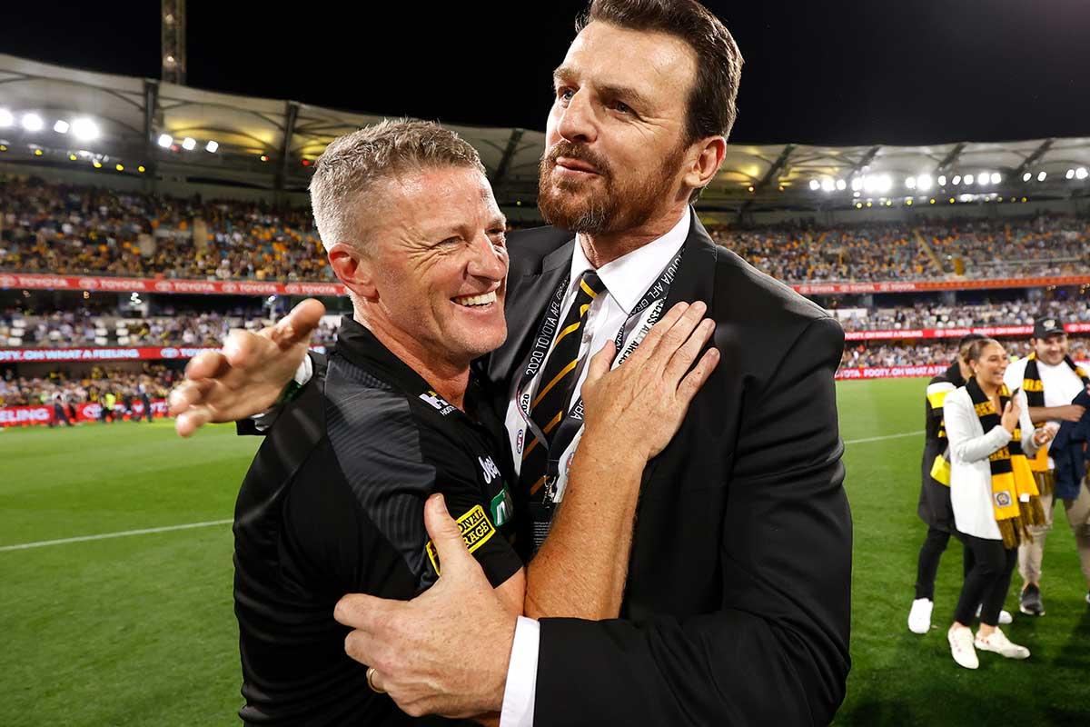 Article image for Why Richmond's chief is 'optimistic' about the latest AFL chaos