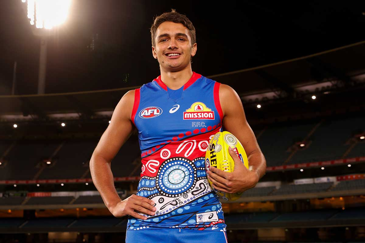 Article image for Jamarra Ugle-Hagan to make his AFL debut for the Western Bulldogs