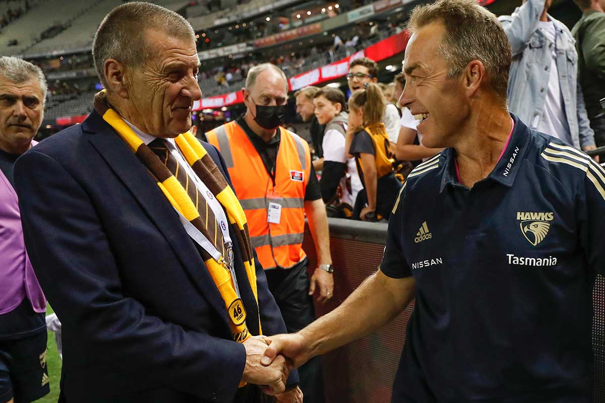Article image for Jeff Kennett says Hawthorn's succession plan is simply 'good governance'
