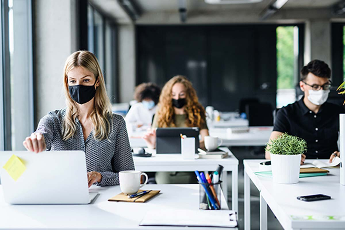 Article image for Calls for Victoria's mask rules to be relaxed at the office