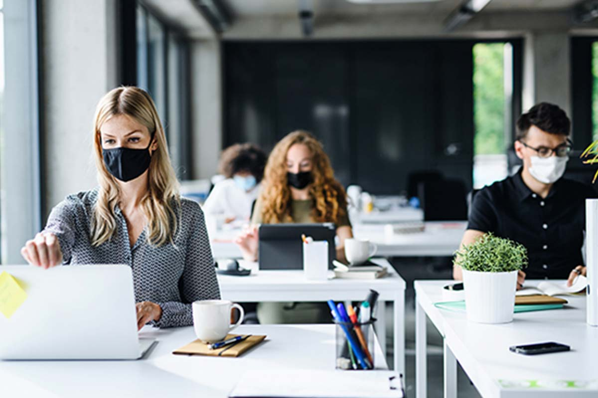 Article image for Calls for office mask rules to be changed, once workers are allowed back