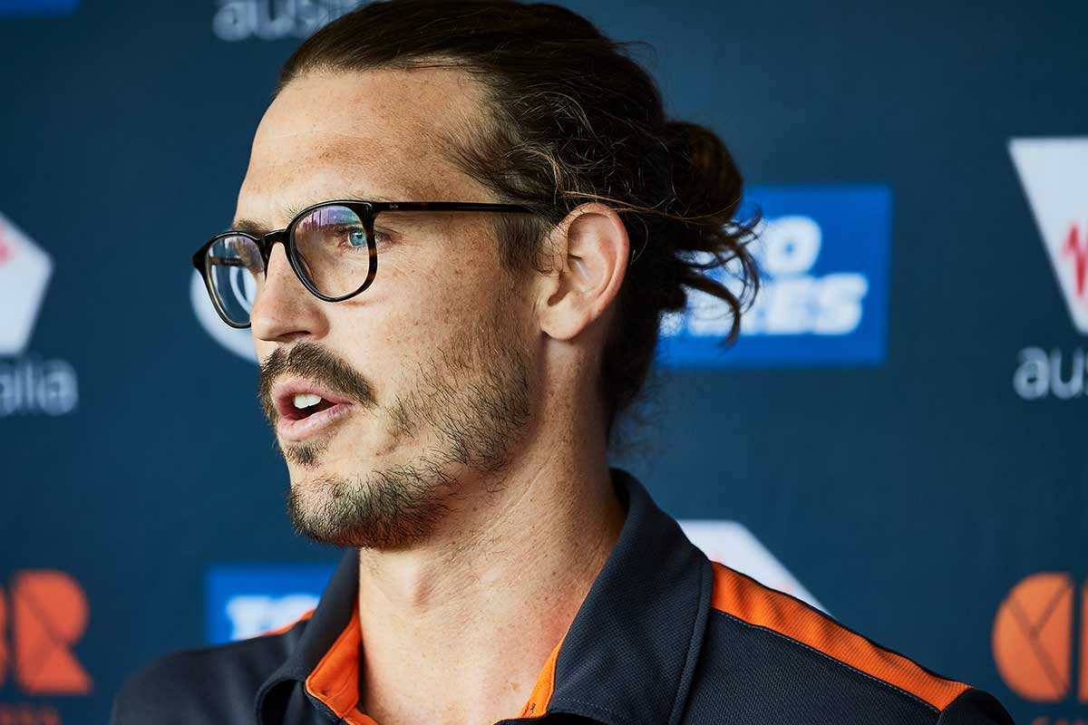 Article image for Phil Davis on player retention at GWS and why 'too much' is asked of AFL coaches