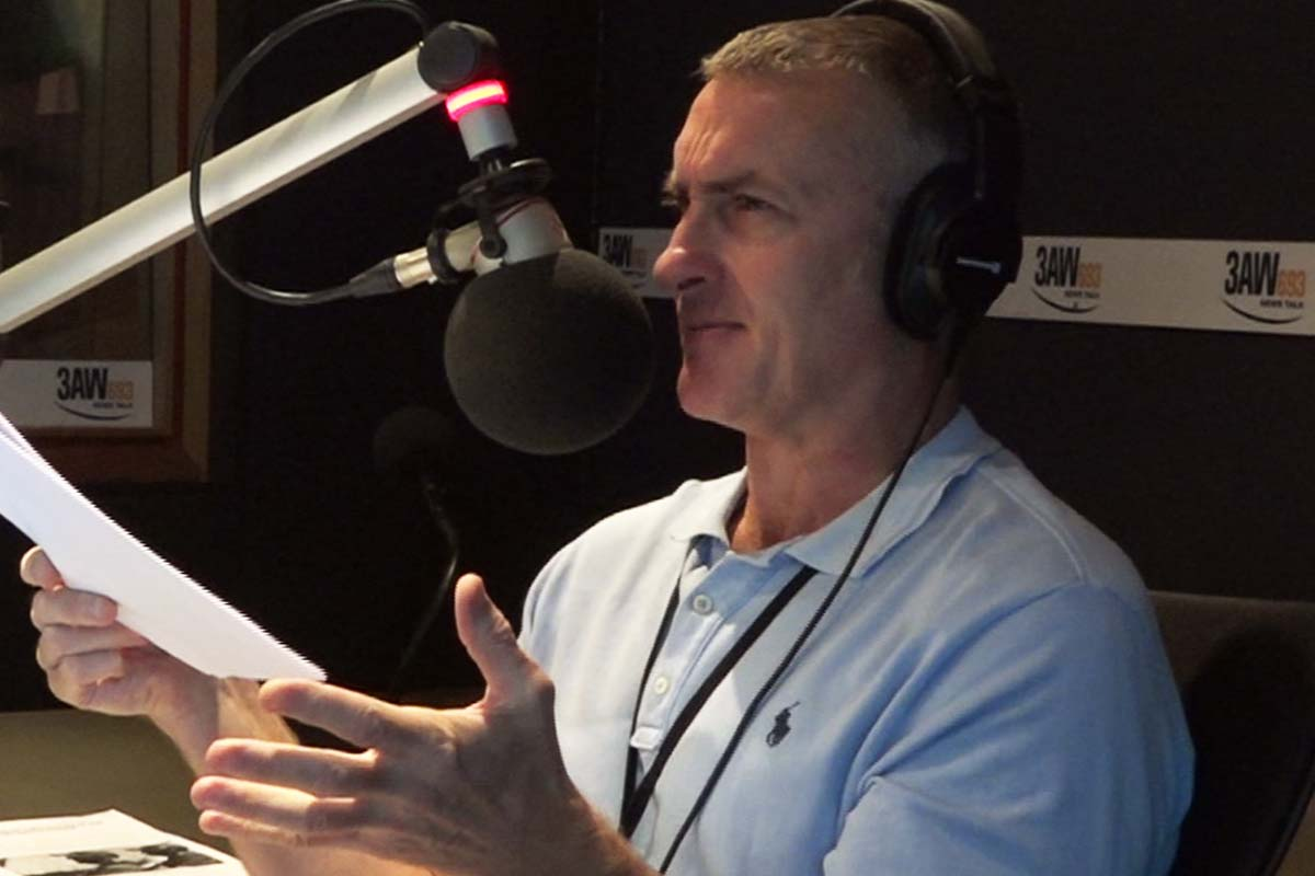 Article image for Tom Elliott responds to 'ludicrous' claim from Daniel Andrews
