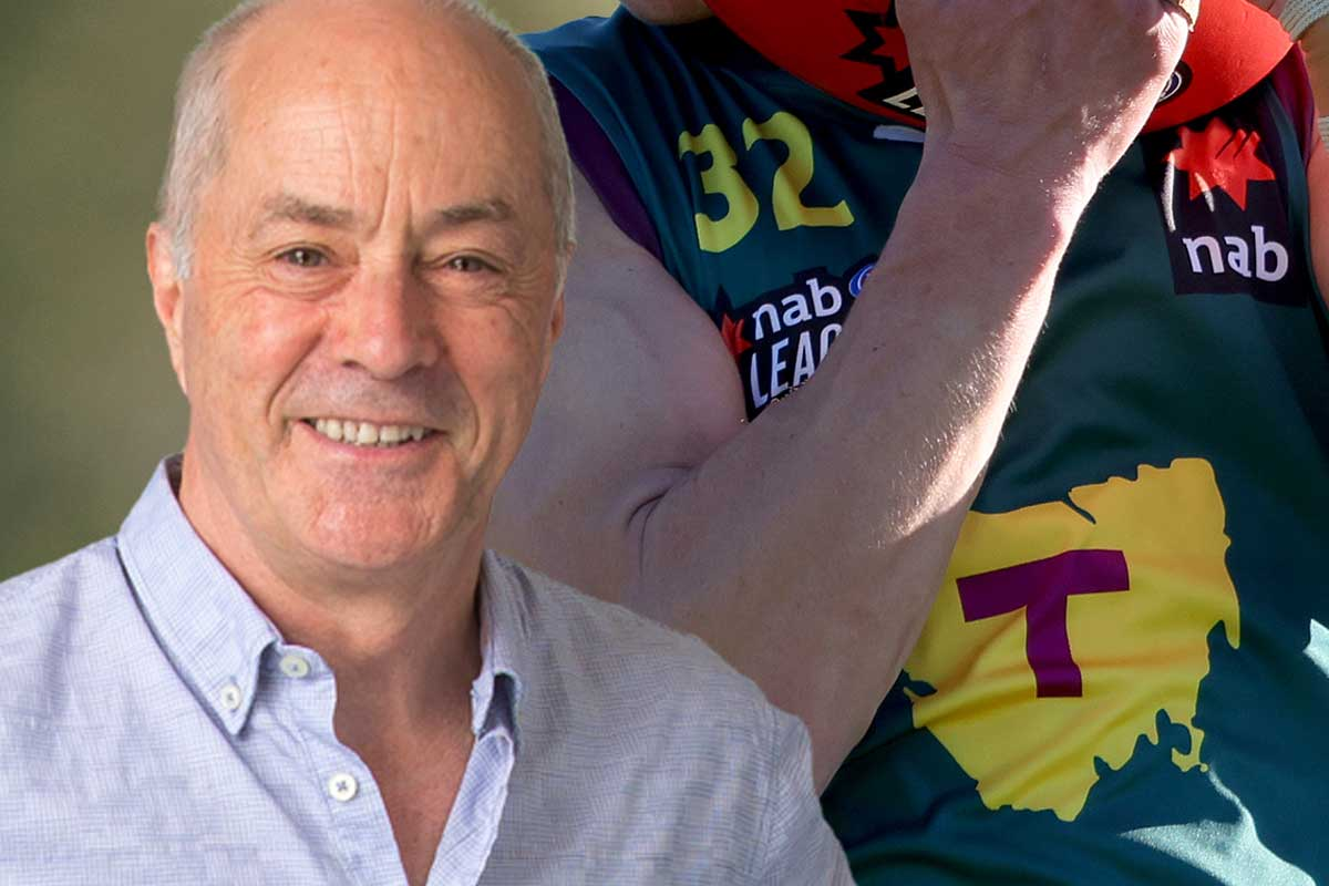 Article image for Tim Lane clashes with Colin Carter over his report on Tasmanian football