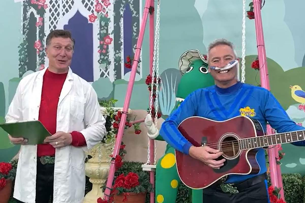 Article image for How the Wiggles helped save a Melbourne COVID-19 patient